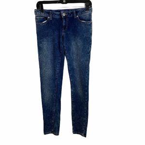 levi acid wash knit jeans size 16 girls